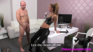 FemaleAgent Dramatis personae creampie for teasing vehicle