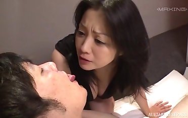 Stunning Komukai Minako gets her wet cunt pounded from behind