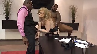 Nina Hartley undying pornstar fucked by 2 blacks