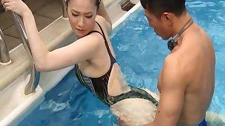 POV video of handsome Japanese model Airi Miyazaki having sex