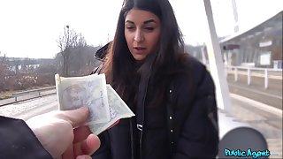 Money lovemaking leads European teen to insane POV